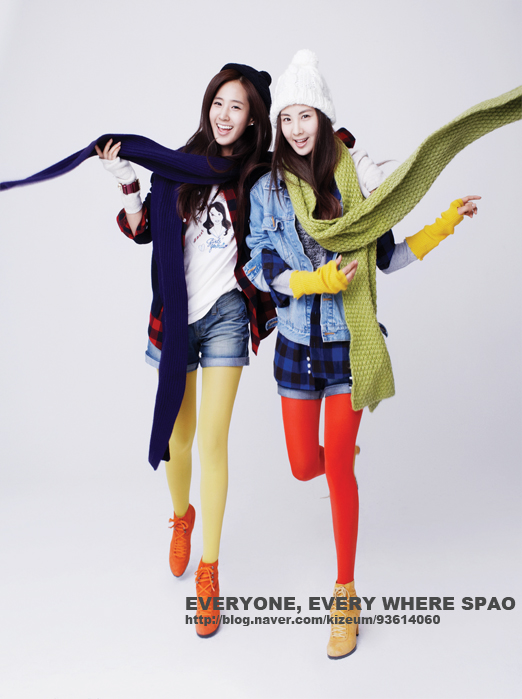 pOp ShoT~ super junior girl's generation spao full photoshoot